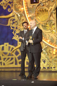 Anupam Kher wins Outstanding Achievement Awards for his contribution to Indian Cinema at NEXA IIFA Awards 2018