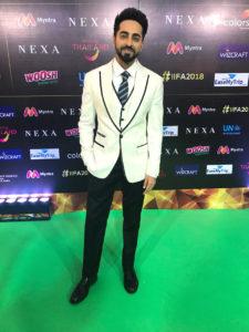 Ayushmann Khurrana at IIFA Awards 2018 Green Carpet