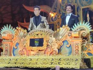 Hosts Karan Johar & Riteish Deshmukh at NEXA IIFA Awards Styled by Myntra