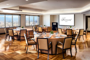 16 Meeting facilities Fairmont Dubai